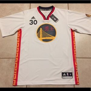 Steph Stephen Curry Golden State Jersey Medium